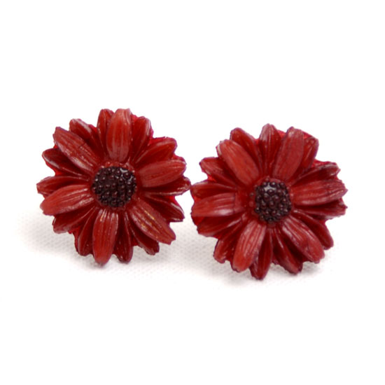 Earrings Daisy Big Vintage