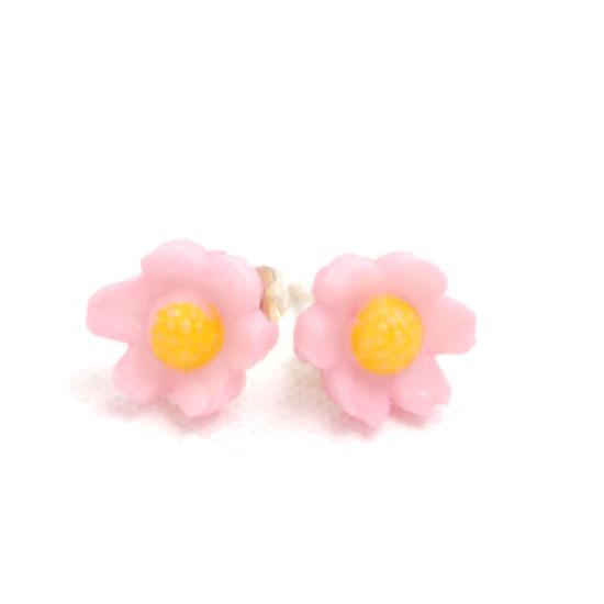 Earrings Flower Vintage Small