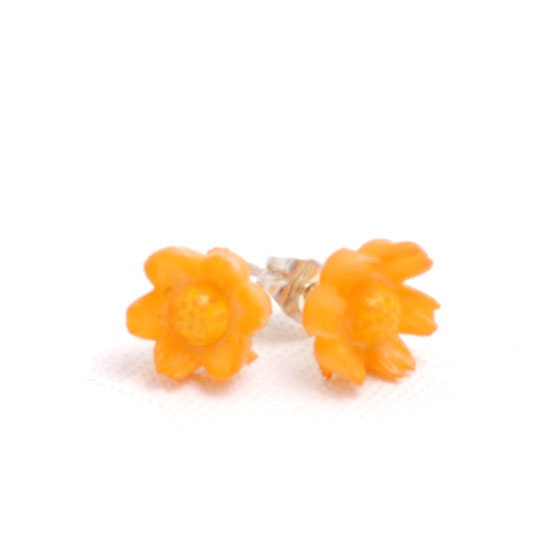 Earrings Flower Vintage Small