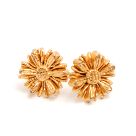 Earrings Daisy (gold)