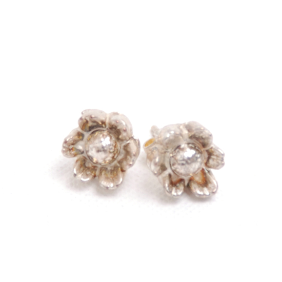 Earrings Flower Vintage (silver)