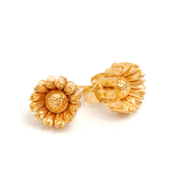 Earrings Flower Vintage (gold)