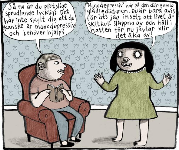 Magnet Nina Hemmingsson 'Manodepp'
