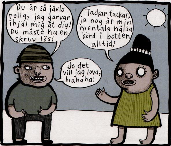 Magnet Nina Hemmingsson 'Mental hälsa'