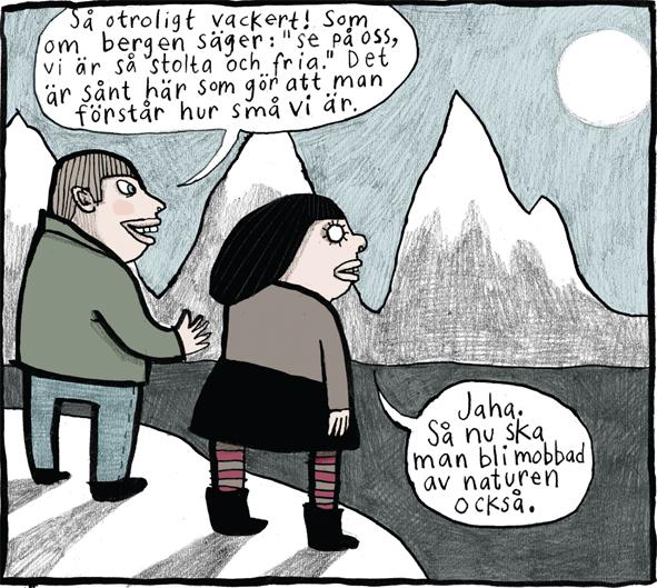 Magnet Nina Hemmingsson 'Mobbad'