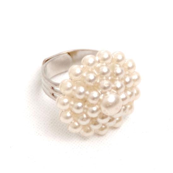 Ring Pärlemor (stora pärlor)