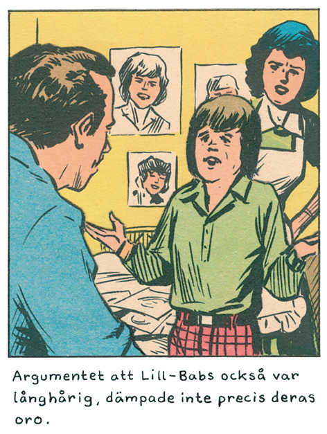 Magnet Jan Stenmark 'Lill Babs'