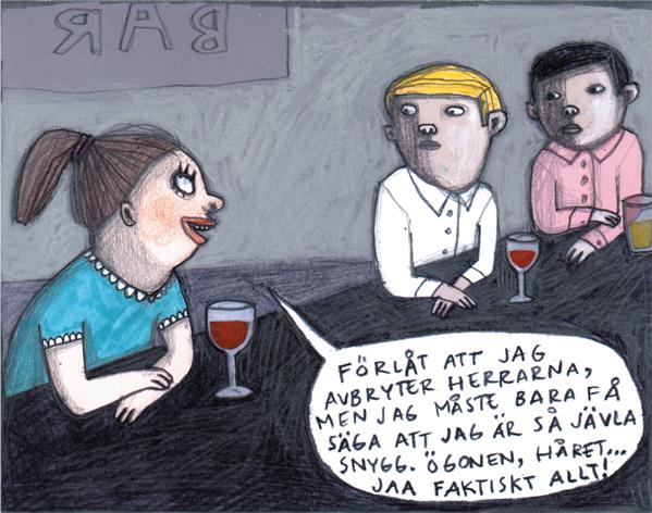Magnet Nina Hemmingsson 'Snygg'