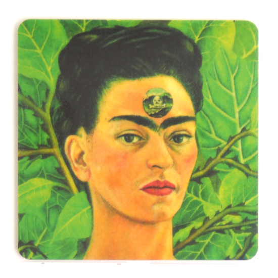 Coaster Frida Kahlo painting #1