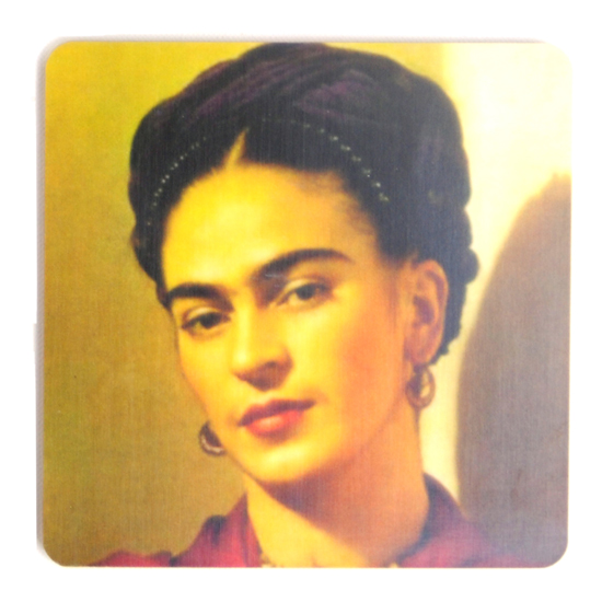 Coaster Frida Kahlo photo #4