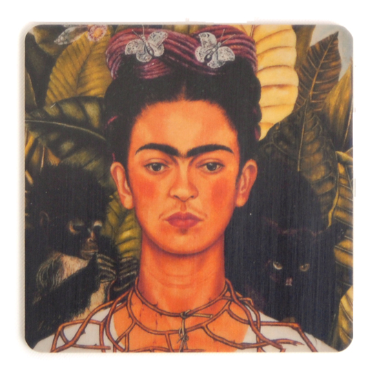 Coaster Frida Kahlo painting #8