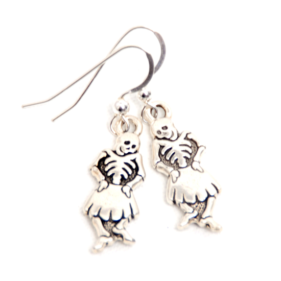 Earrings Dancing Skeleton
