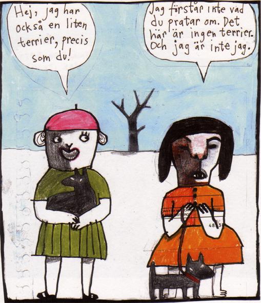 Magnet Nina Hemmingsson 'Terrier'