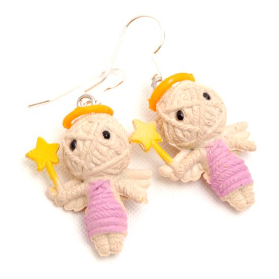 Earrings Voodoo (angel)