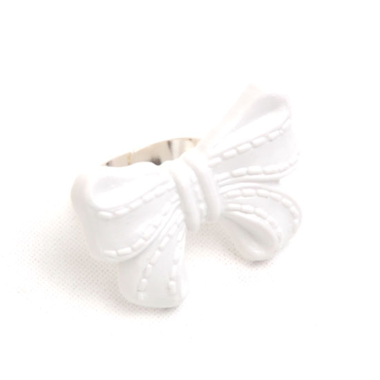 Ring Bow (white)