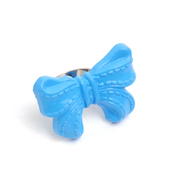 Ring Bow (blue)