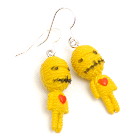 Earrings Voodoo (yellow)