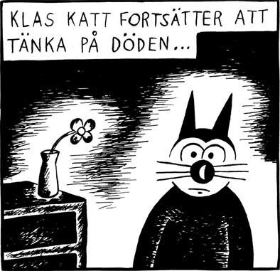 Magnet Klas Katt 'Döden'