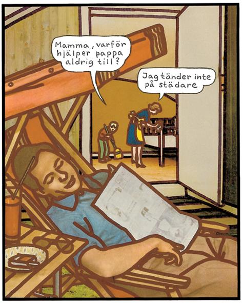 Magnet Jan Stenmark 'Städare'