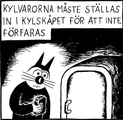 Magnet Klas Katt 'Kylvaror'