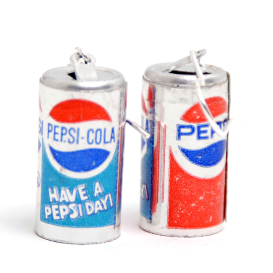 Earrings Pepsi