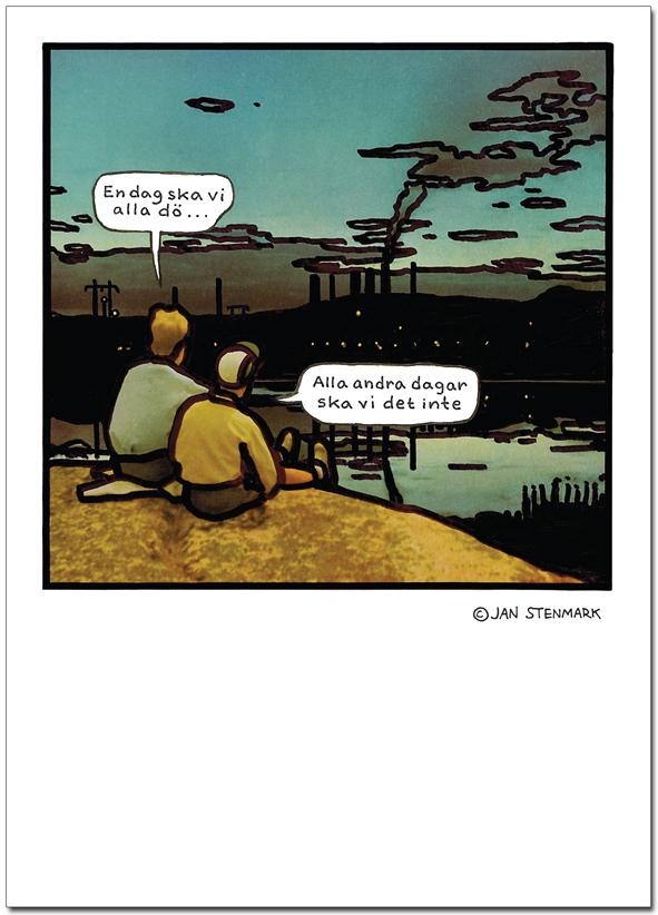 """Affisch Jan Stenmark """"Dö"""""""