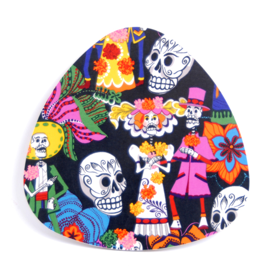 Pot Stand Day of the dead (black)