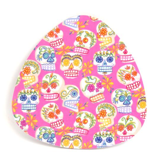 Grytunderlägg Sugar skulls (rosa)