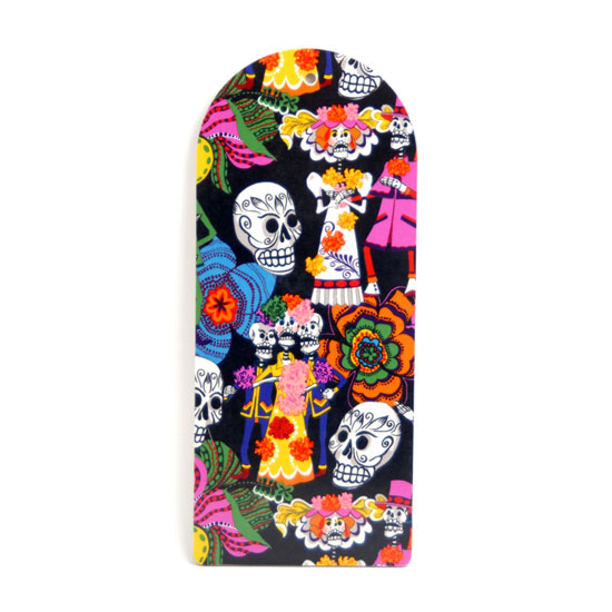 Cutting Board Day of the dead (black)