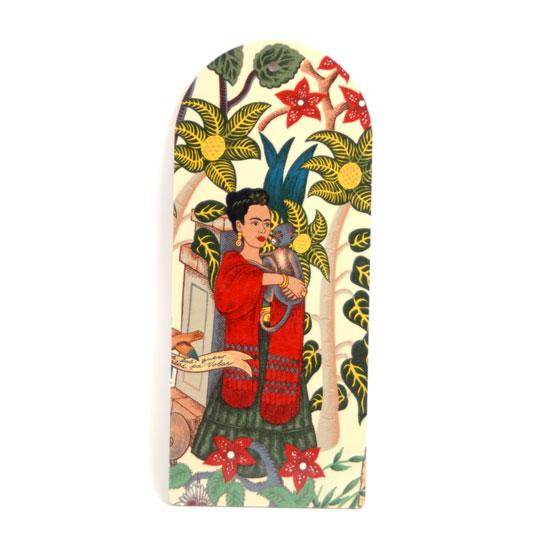 Leikkuulauta Frida Kahlo (beige/apina)