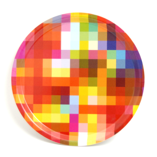 Round Tray 31 cm Squares