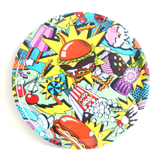 Round Tray 31 cm Eighties Food