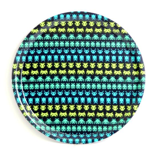 Pyöreä Tarjotin 31 cm Invader