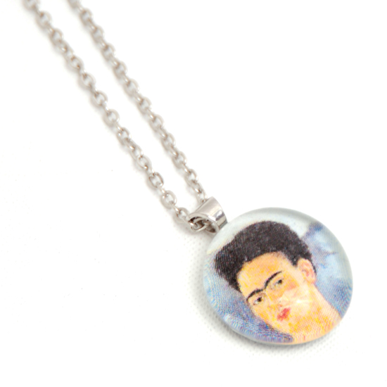 Necklace Frida Kahlo 'No10' Glass