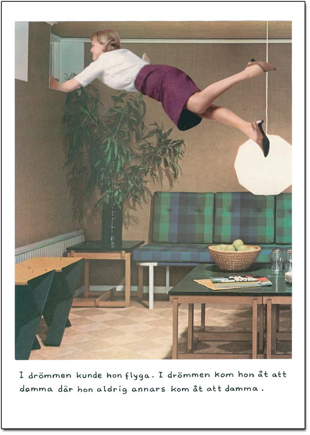 """Postcard Jan Stenmark """"Damma"""""""