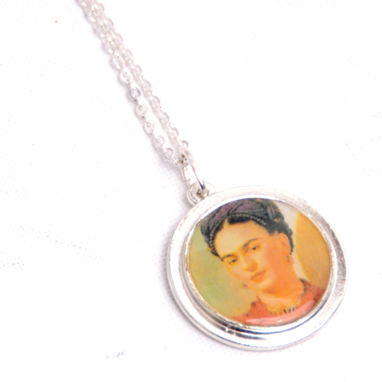 Necklace Frida Kahlo Circle Small