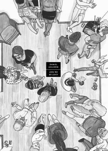 Book Livet är en fest, Daniel Ahlgren