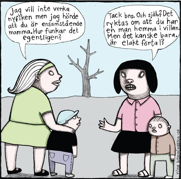Magneetti Nina Hemmingsson 'Förtal'