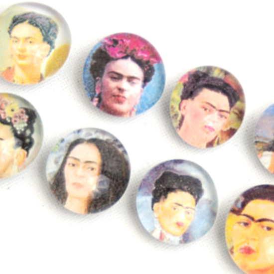 Magnet Frida Kahlo Glass