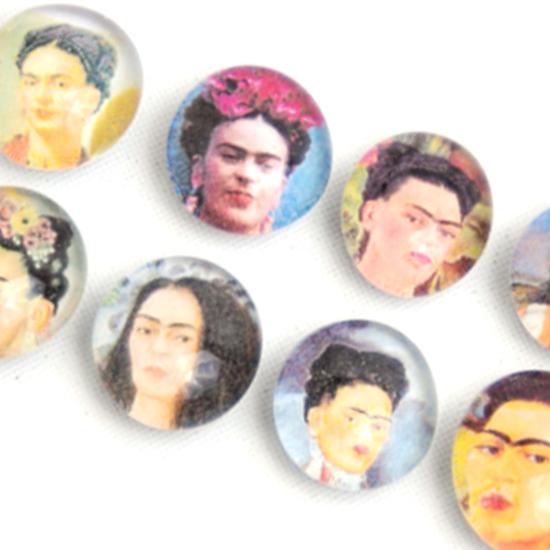 Magnet Frida Kahlo Glas