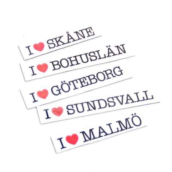 Magneeti I ♥ Kaupunki