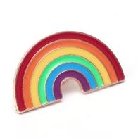Brosch pin regnbåge