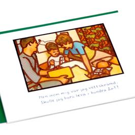 Double Card Jan Stenmark-Grattis