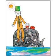 Affisch Lilla Anna 50x70 cm