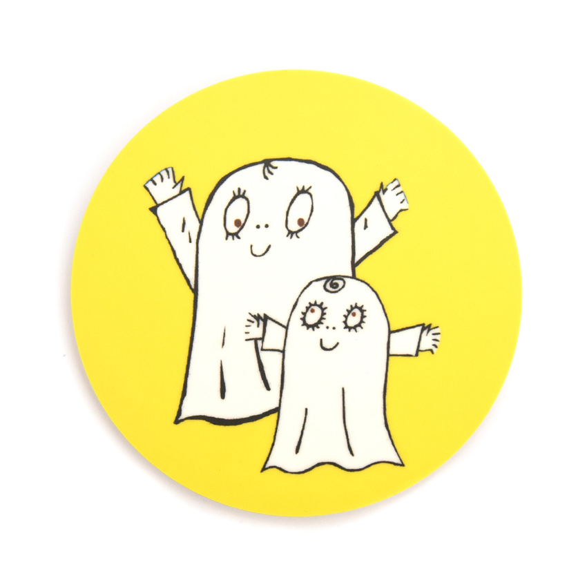 Coaster Spook Laban both (yellow)