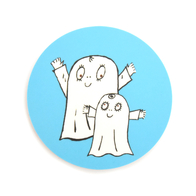 Coaster Spook Laban both (light blue)