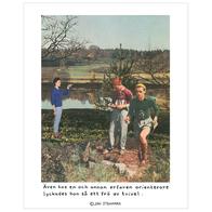 Affisch Jan Stenmark 'Orienterare' liten 24x30 cm