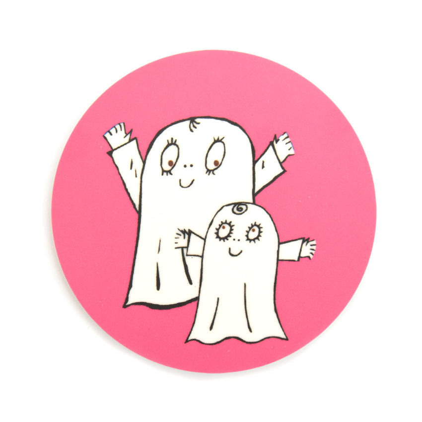 Coaster Spook Laban both (pink)