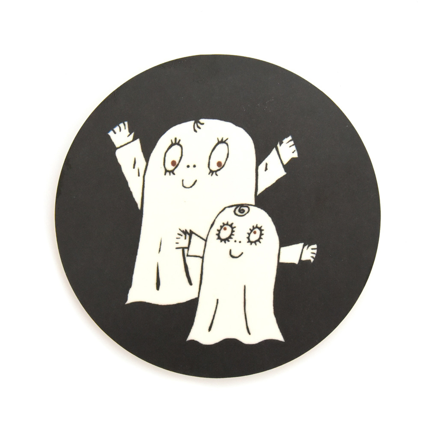 Coaster Spook Laban both (black)