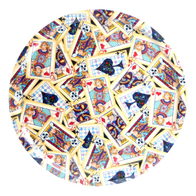 Round tray 45 cm Cards/Poker